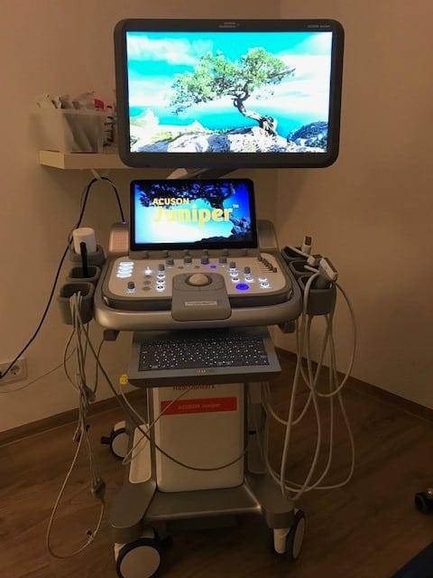 Ultraschallgerät Acuson Juniper