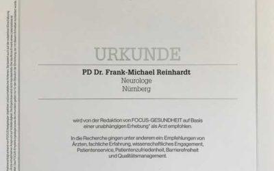 Focus Empfehlung für Ärzte in der Region Nürnberg